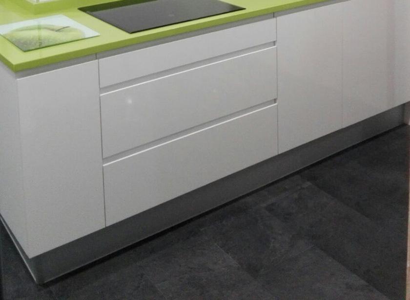 Pavimento vinílico quick step en cocina
